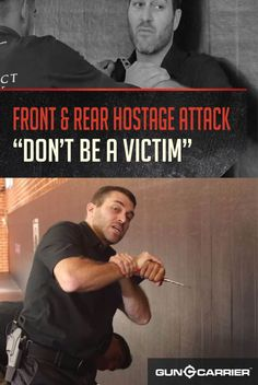 VIDEO: How to Stop An Attack from the Front or from Behind | Self Defense Tactics by Gun Carrier at http://guncarrier.com/video-how-to-stop-an-attack-from-the-front-or-from-behind-self-defense-tactics/