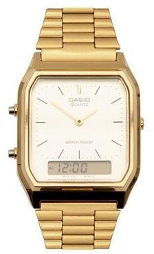 Casio AQ-230GA-9DMQYES Digital Bracelet Watch - Gold