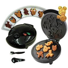 Mickey and friends waffle/cake maker... I need this!