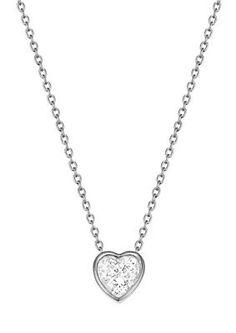 Esprit Halskette, mit Zirkonia, »ESPRIT-JW50037, ESNL02764A420« im Universal Online Shop Shops, Diamond, Silver, Jewelry, Morning Of Wedding, Romantic Gifts, Neck Chain, Tents, Jewlery