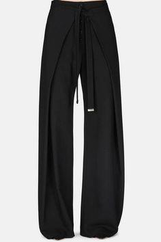 Proenza Schouler — Baggy Wrap Pant - Black