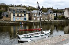 Dinan – a Medieval Gem of Brittany – Compass heading The port of Dinan on the river Rance Compass, Brittany, Finland, Medieval, Road Trip, Gems, River, Places, Rhinestones