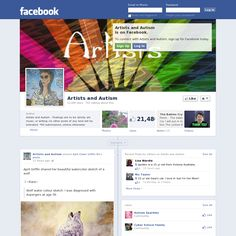 Artists and Autism facebook page