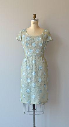 Cheville dress vintage 1950s dress cutout lace 50s by DearGolden