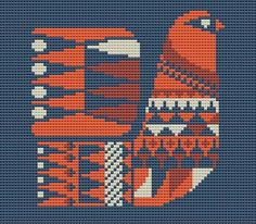 Thrilling Designing Your Own Cross Stitch Embroidery Patterns Ideas. Exhilarating Designing Your Own Cross Stitch Embroidery Patterns Ideas. Cross Stitch Bird, Simple Cross Stitch, Cross Stitch Designs, Cross Stitching, Cross Stitch Embroidery, Embroidery Patterns, Cross Stitch Patterns, Bird Pillow, Tapestry Crochet
