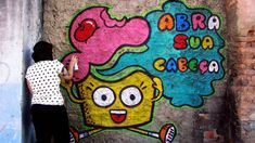 Maria Raquel #graffiti #cupcake