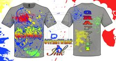 Graffiti Tshirt Design By StreetWear Ink by ~StreetWearinc on deviantART
