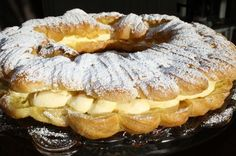 5 fantastiske kaker til - krem. Danish Bakery, Danish Food, Kringle Recipe, Eclair Recipe, Norwegian Food, Pudding Desserts, Sweets Cake, Pavlova, Yummy Cakes
