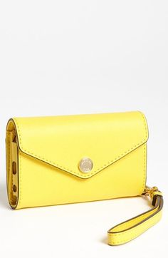 for spring, but I'm going to need to upgrade my iPhone too  MICHAEL Michael Kors iPhone 5 Wristlet