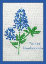 Bluebonnets, Texas flower, I love 'em