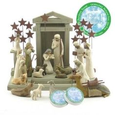 Willow Tree Nativity set --------from Carl Christmas 2012