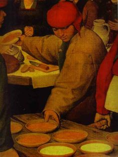 The Peasant Wedding - : Canvas Art, Oil Painting Reproduction, Art Commission, Pop Art, Canvas Painting Pieter Brueghel El Viejo, Pieter Bruegel The Elder, Dream Pictures, Landsknecht, Hieronymus Bosch, Free Art Prints, Dutch Painters, Oil Painting Reproductions, Wedding Art