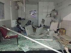 Grupo explode banco e foge atirando contra o destacamento da PM e residências na Paraíba   Tô de Olho Em Você