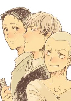 Marco, Jean, and Connie // AoT