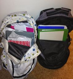 School Counselor Blog: Backpack Organization Game: School Counselor Spotlight