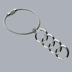 Audi rings key holder