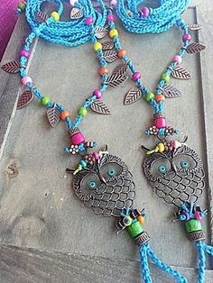 Boho barefoot sandals Crochet sandals Owl Hippie anklet by FiArt I Love Vintage ILV Ankle Jewelry, Ankle Bracelets, Skull Jewelry, Yoga Jewelry, Tribal Jewelry, Boho Crochet, Hand Crochet, Barefoot Sandals Crochet, Turquoise Sandals