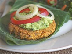 Springtime Veggie Burgers  (Can use pulp from making veggie juice instead of chopped vegetables )