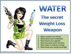 Water, water, water!