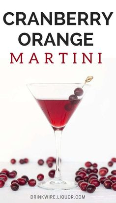 The Must Have Martini For Your Gathering! Savor the rich fall flav… The Must Have Martini For Your Gathering! Savor the rich fall flavors of Cranberry and Orange mixed with London Dry Gin. Thanksgiving Cocktails, Thanksgiving Celebration, Fall Cocktails, Coffee Cocktails, Fall Drinks, Christmas Cocktails, Holiday Drinks, Thanksgiving Food, Liquor Drinks