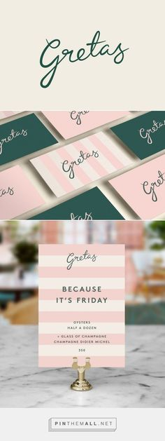 feminine logo and branding and beautiful stationery in pink and green. Brand Identity Design, Graphic Design Branding, Stationery Design, Logo Branding, Logos, Graphic Designers, Logo Velo, Eyelash Logo, Web Design