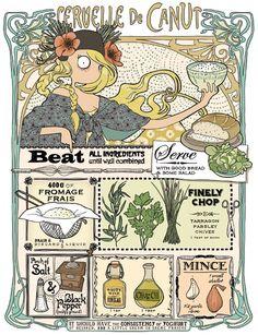 Emma Tissier- illustrated recipes
