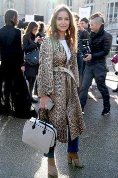 Super Fashion Show Street Style Miroslava Duma Ideas Street Chic, Street Style, Street Fashion Show, Miroslava Duma, Looks Style, Fashion Lookbook, Couture, Fashion Prints, Her Style