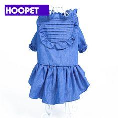 >> Click to Buy << Summer Dog puppy luxury denim dress Tutu skirt pet dog cat Princess wedding Dress summer small dog Chihuahua clothes shirt #Affiliate