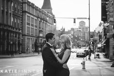 East Avenue Rochester Spring Engagement Session photographed by Katie Finnerty Photography | http://www.katiefinnertyphotography.com/blog/2016.5.17.east-ave-rochester-engagement-session-anna-chris
