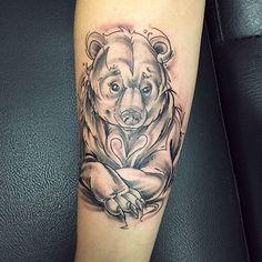 playing bear tattoos - Google Search