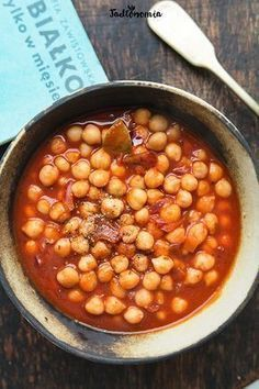 Chickpeas in Breton Healthy Cooking, Healthy Eating, Cooking Recipes, Vegetarian Recipes, Healthy Recipes, Winter Dinner Recipes, Winter Food, Fall Winter, Vegan Dinners