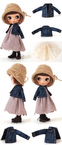 ** Blythe outfit ** Lucalily 384**の画像:mahounote.