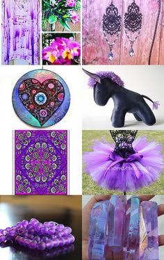 Deep purple, Integritytt SOTW by Marie ArtCollection on Etsy--Pinned with TreasuryPin.com