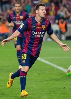 02. Lionel Messi (Argentina, Barcelona) Top 10 Best Soccer Players in the World 2015 :- http://www.sportyghost.com/top-10-best-soccer-players-world-2015/ #soccer #football