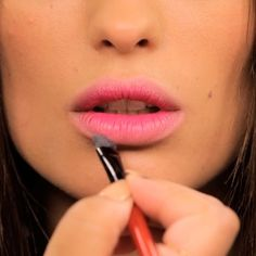 We ❤️ this blurred lip tip by @smashboxcosmetics ! Enjoy #HSNBeauty #Smashbox                                               Step 1: Blur the outer edges of you lips with HD concealer Step 2: Apply Be Legendary in Talk to Me in the center of your lips  Step 3: Pat more lipstick onto the center of your lips to add depth