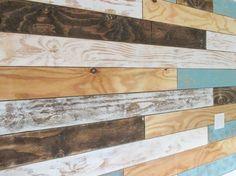 Studio Sunday - Distressed Plank Wall (Part II)