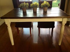 CUSTOM French Farmhouse Table by TimewornInt on Etsy, $395.00