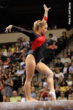 Shawn Johnson - love this leo on her