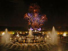 Latona Basin, Park of Versailles. Night of the Fountains June - September.