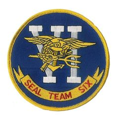 Navy Seal Team 6 patch