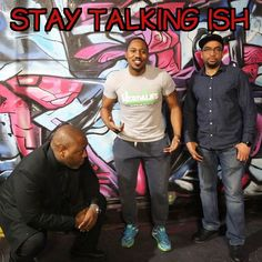Thanks to @rtp_fitness_nutrition for coming through on Friday and trying to motivate us to to be healthier.  Check out the Stay Talking Ish radio show every Friday 6pm - 8pm on BigBadRadio.com. Or you can download the Android/IOS app.  #staytalkingish #staytalkingishpodcast #staytalkingishradioshow  #blackpeople #truth #followme #onlineradio #philly #phillysupportphilly #phillyrap #hiphop #bigbadradio #realhiphop #blackradio #radio #phillysupportphilly #talkradio  #music  #fitness #gym…