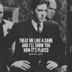 I heard you& a player. Nice to meet you, I& the coach. Coach Quotes, Boss Quotes, Joker Quotes, Attitude Quotes, Movie Quotes, Instinct Quotes, Funny Quotes, Scarface Quotes, Godfather Quotes