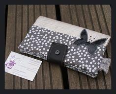 portefeuille complet ''belle en argenté'' en simili cuir : Porte-monnaie, portefeuilles par veronice