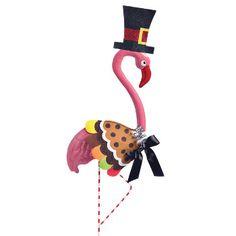 Garden Flamingo Thanksgiving Outfit -