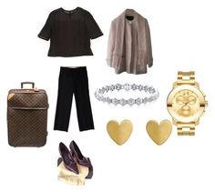 Louis Vuitton by shaniamelville-1 on Polyvore featuring Louis Vuitton and Movado