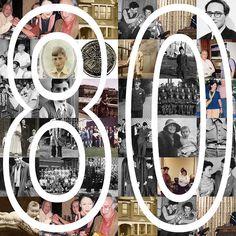 80th Birthday Collage