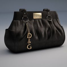 96629499728 DG Dolce Gabbana Handbag 3D Model .max .c4d .obj .3ds .fbx .lwo .stl   3DExport.com by monkaddison