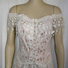 Corset Top with Lace Skirt