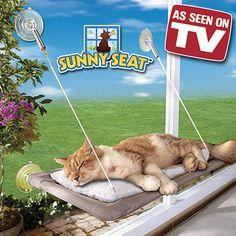 Cama Asılan Kedi Yatağı Sunny Seat | Sıcağı seven tüm kediler cama asılan bu minderde doya doya güneş banyosu yapıp üzerine güzel bir uyku çekecekler. #PetShop #Pet #EvcilHayvan #Köpek #Kedi #Kuş #Dog #Bird #Papağan #Kafes #Cat #Mama #Akvaryum #Oyuncak #Toys #Balık #Fish #Satacak