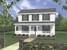 Eplans Traditional House Plan - Screened Porch for Entertaining - 1200 Square Feet and 3 Bedrooms from Eplans - House Plan Code HWEPL62678